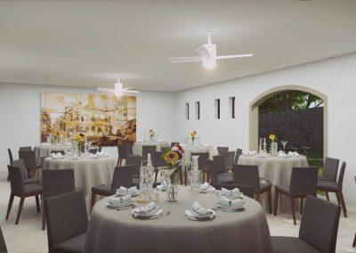 Restaurante Las Condes Residencial, Querétaro